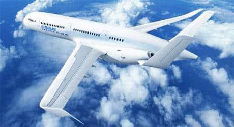 Projeto de avião da Airbus tem piso e paredes  invísiveis
