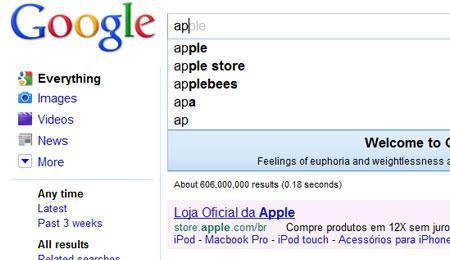 Google libera recurso de busca em tempo real. Experimente!
