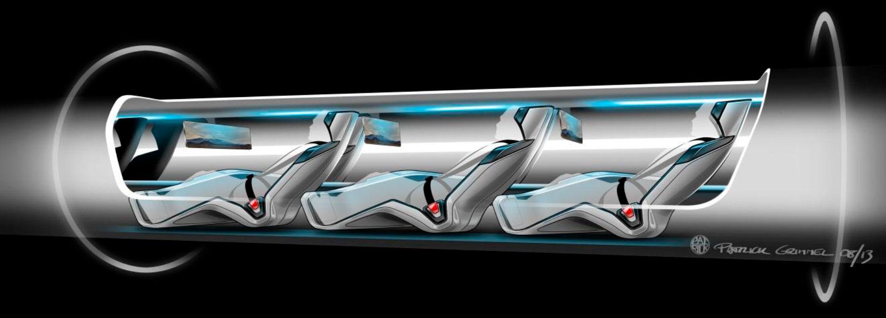 Hyperloop - Crédito: tesla.com