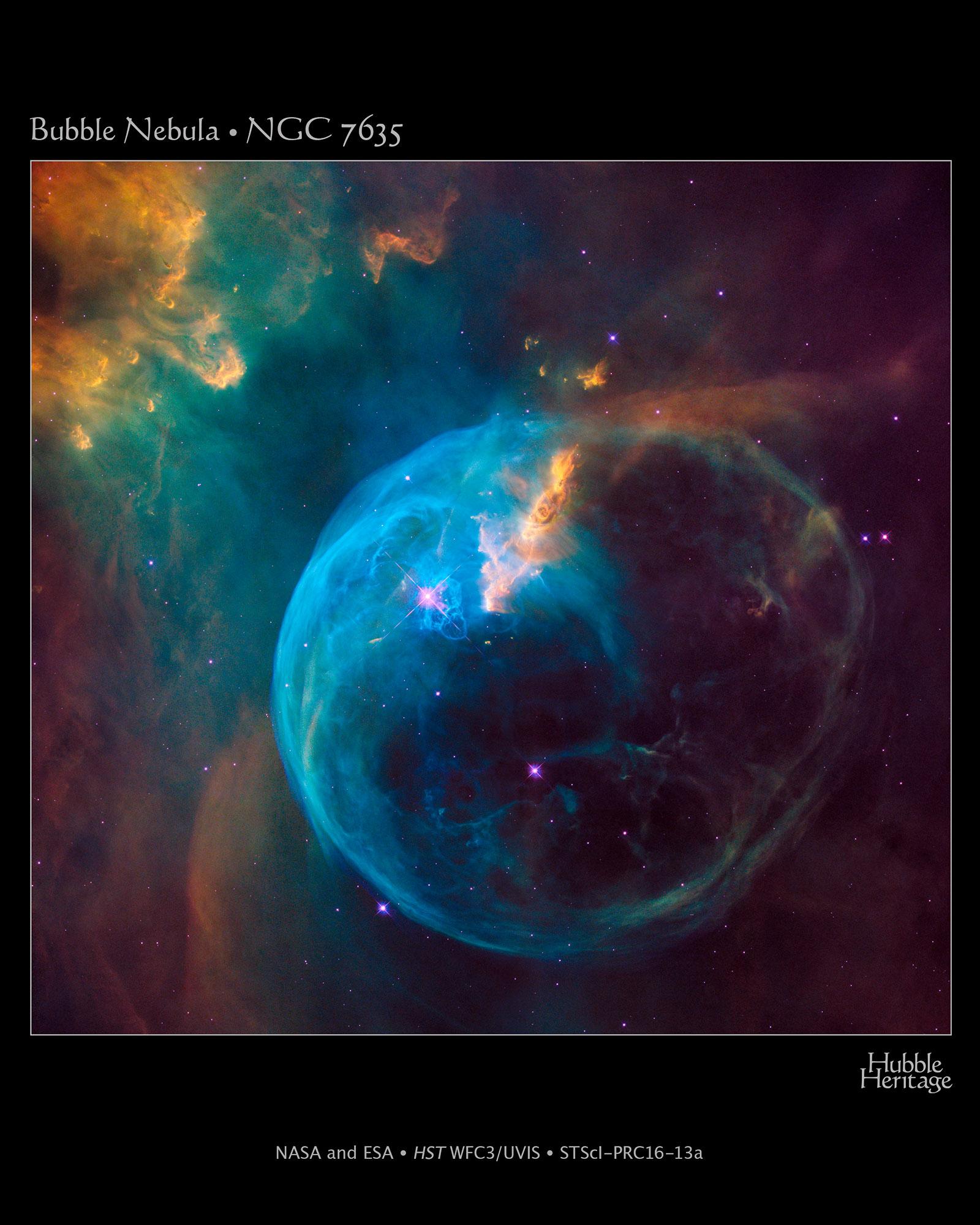 Bubble Nebula.