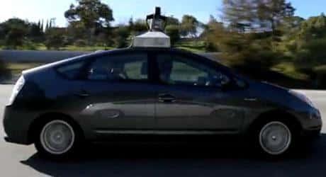 Carro sem motorista é testado na Califórnia