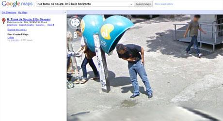 Brasileiro processa Google por imagem no Street View