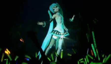 Garota holográfica é sensação entre os japoneses