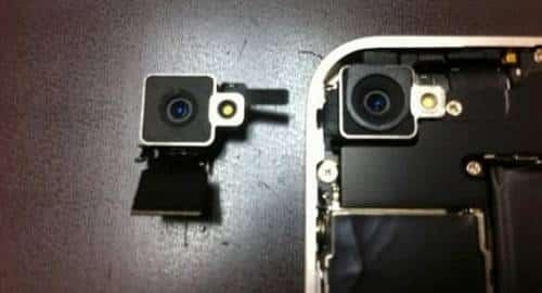iPhone 4 branco - Diferença de câmera