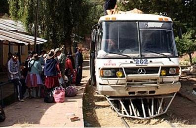 ônibus-trem
