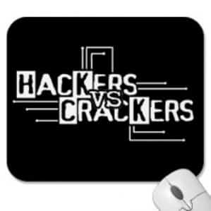Hacker versus Crackers