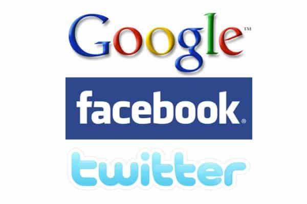 Google+Facebook+Twitter