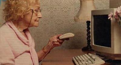 velha idosa