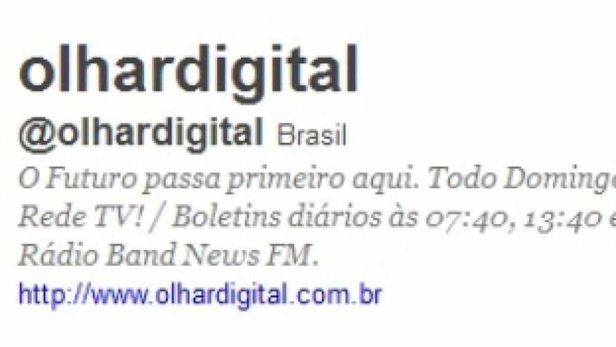 7c2b888e2c6ad Twitter do Olhar Digital ultrapassa barreira dos 200 mil seguidores