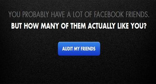 The Facebook Friend Audit