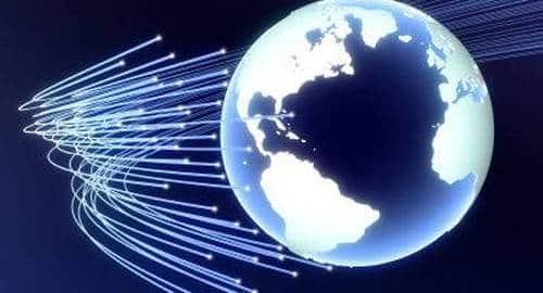 Rede de fibra ótica América do Sul