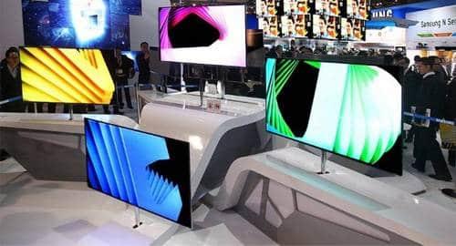 TV com tecnologia OLED da Samsung