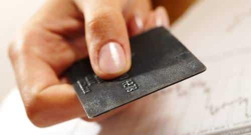 Dinheiro Cartão de Crédito