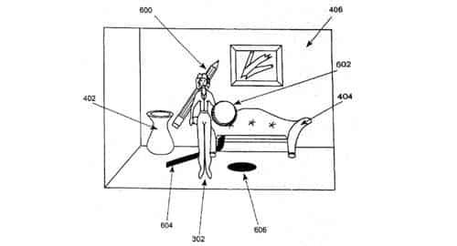 Patente movimento Sony