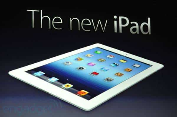 Novo iPad é mais rápido e com tela de alta definição