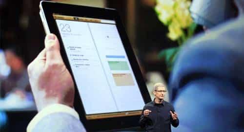 Lançamento novo iPad, da Apple