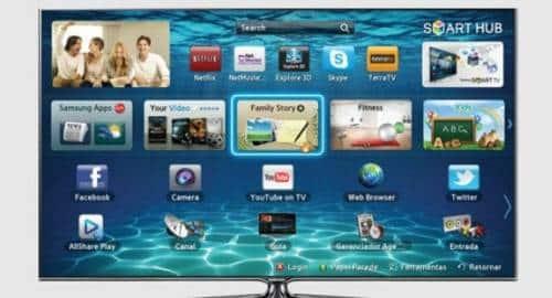 TV Samsung - controle de voz e gestos