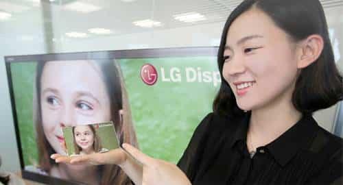 Tela LG 5 polegadas Full HD