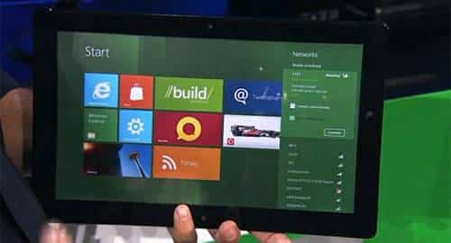 Tablet com Windows