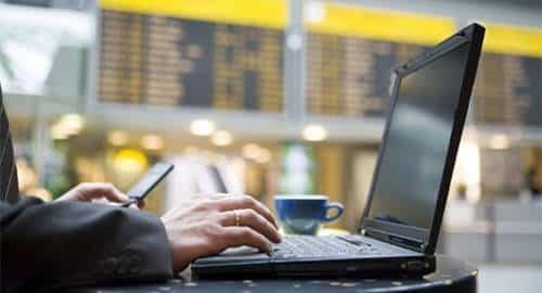 Wi-Fi em aeroporto