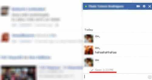 Facebook Chat - Reprodução