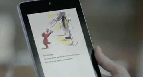 Comercial do Nexus 7