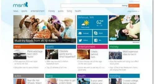 Novo MSN
