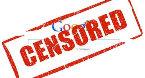 Censura ao Google