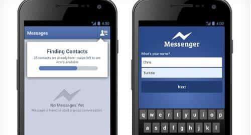 Mensagens Facebook