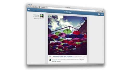 Instagram para web