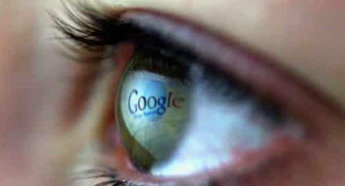 Google no olho