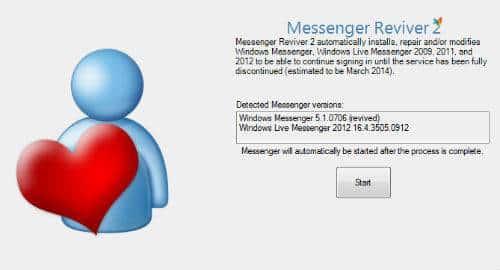 Messenger Reviver