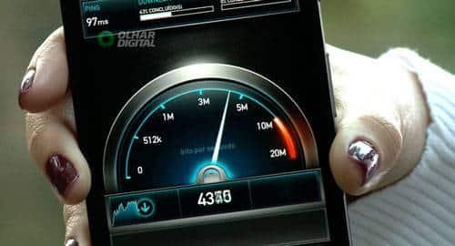 Teste do 4G