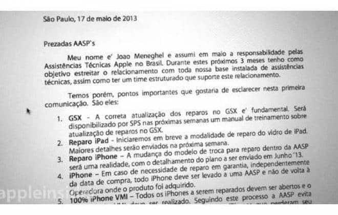 Documento revela mudanças na política de garantia da Apple 101c52665f