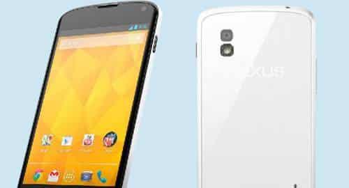Nexus 4 branco