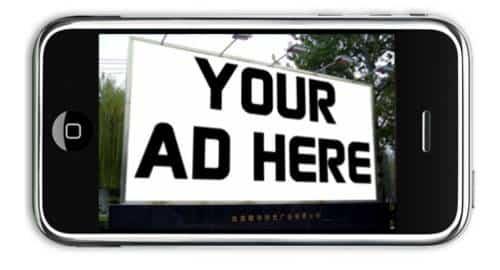 publicidade móvel
