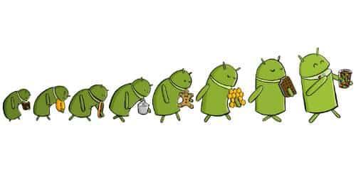 android evolução