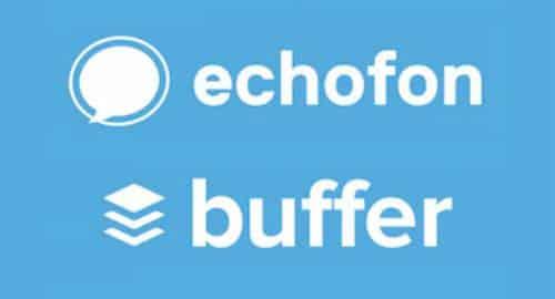 Echofon e Buffer