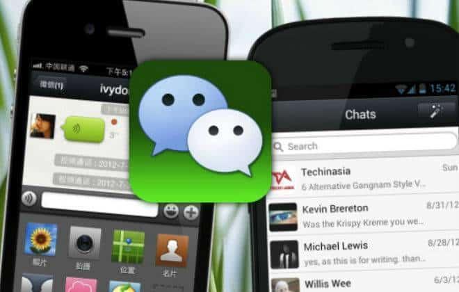 """Comparativo: WeChat dá uma """"surra"""" no WhatsApp"""