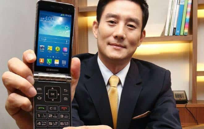Conheça o novo celular com flip da Samsung