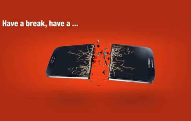 Nokia aproveita anúncio do Android Kit Kat para zombar da Samsung