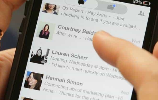 App transforma e-mails em mensagens instantâneas
