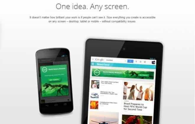 Google lança ferramenta grátis para criação de páginas em HTML 5
