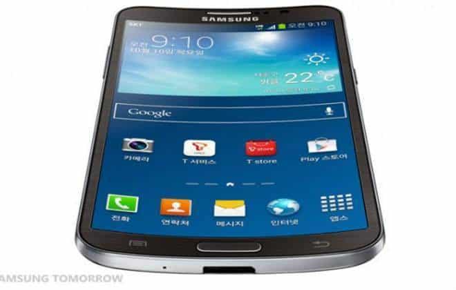 Samsung revela o Galaxy Round, primeiro smartphone com tela curva