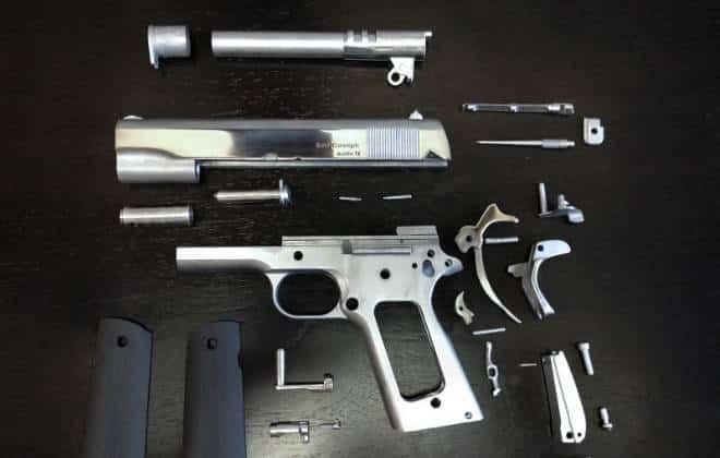 Surge a 1ª arma de metal feita com impressora 3D