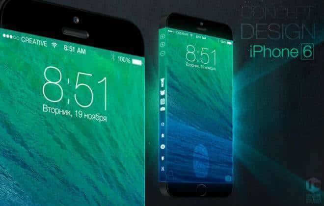 Conceito propõe iPhone 6 com tela contínua