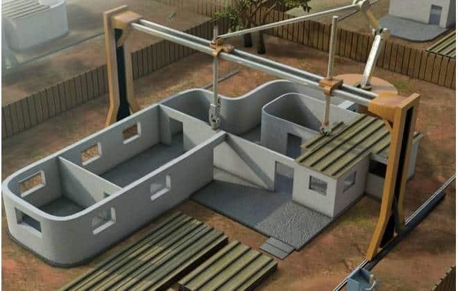 """""""Impressora 3D gigante"""" pode construir casas em apenas um dia"""