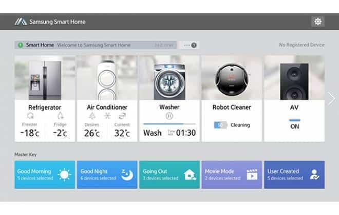 Samsung lança casa inteligente