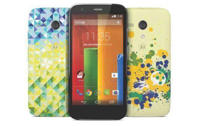 Motorola lança nova versão do Moto G exclusiva para o Brasil