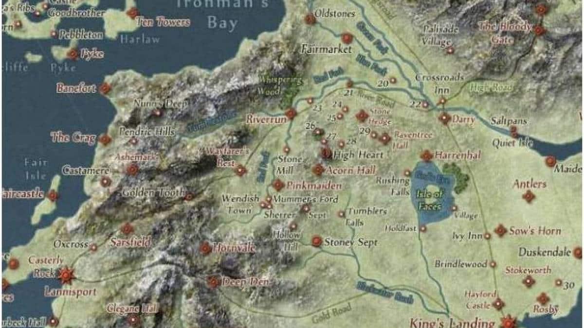 Game Of Thrones Ganha Mapa No Estilo Google Maps